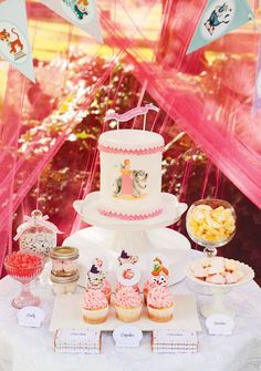 Pink Vintage Circus Party