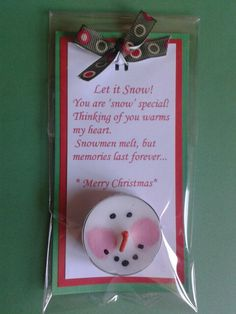 May change the wording slightly. Christmas Craft Fair, Christmas Favors, Christmas Makes, Christmas Activities, Homemade Christmas, Christmas Projects, Christmas Holidays, Christmas Ornaments, Christmas Ideas