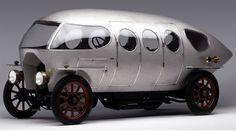 1914 Alfa Romero  Castagna A.L.F.A. 40/60 HP Aerodinamica is the first real example of an aerodynamic passenger car.