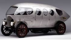 1914 Alfa Romero  Castagna A.L.F.A. 40/60 HP Aerodinamica is the first real example of an aerodynamic passenger car.