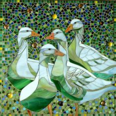 L A Mosaic...I really love this mosaic! It's beautiful!