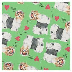 I Love my Biewer Terrier Fabric   funny pugs, pug life meme, cute pugs #christmascountdown #socks #mypeoplearebetterthenyourpeople Australian Bulldog, American Bulldog Puppies, Bulldog Puppies For Sale, Australian Cattle Dog, Australian Shepherd, Cute Puppies, Dogs And Puppies, Teacup Bulldog, Blue Bulldog