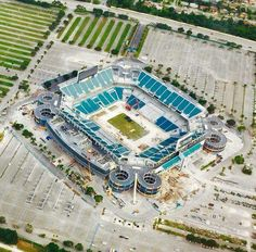 The remodeling of Sun Life Stadium in Miami Gardens, FLA