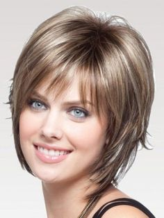 Synthetic Lace Front Wig For Women, Trendy, Sexy, Modern And Sleek These Short Cut Styles Will Flatter Your Face, Buy Short Hair Wigs In Cheapest Price Under Short Hair Styles Easy, Short Hair With Layers, Layered Hair, Medium Hair Styles, Short Human Hair Wigs, Short Hair Updo, Shag Hairstyles, Hair Lengths, Hair Cuts
