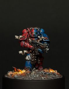 Amazing Brazen Claw Space Marine by that god of a man from Totem Pole Studios