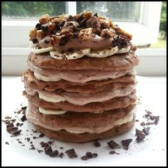Quest Bar Healthy Pancakes. Looks amazing!