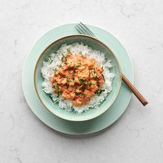 Bönstroganoff med ris | Recept ICA.se