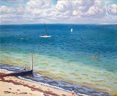 Albert Marquet, Le Pyla (1935, olieverf op doek, 50x61 cm)