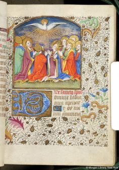 Book of Hours, MS M.84 fol. 36r - Images from Medieval and Renaissance Manuscripts - The Morgan Library & Museum