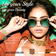 How beautiful is that? Fashion Killa, Fashion Addict, Style Fashion, Hollister, Design Facebook, Round Sunglasses, Mirrored Sunglasses, Tommy Hilfiger, India Shopping