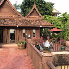 Chakrabongse Villas  #ChakrabongseVillas #PhraNakhon #MyKrungthep #Bangkok Gazebo, Pergola, Hidden Treasures, Villas, Bangkok, Terrace, Chill, Outdoor Structures, Travel