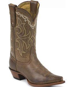 Ladies Tony Lama Honey Saguaro Boot