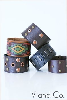 Leather cuff from a belt - 21 Creative DIY Upcycle Projects