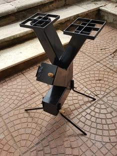 Rocket Stove Design, Diy Rocket Stove, Rocket Stoves, Welding Crafts, Welding Projects, Jet Stove, Rim Fire Pit, Diy Wood Stove, Mini Grill