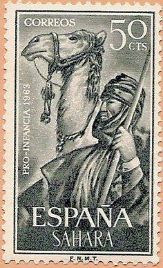 Sáhara Español, Pro Infancia 1963 - Portal Fuenterrebollo
