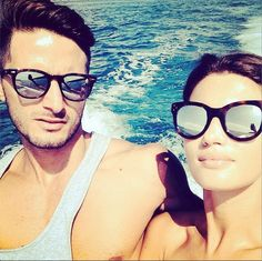 2298415ed01 Good looking peeps enjoy a boat ride with their Spektre Sunglasses! How To  Look Better