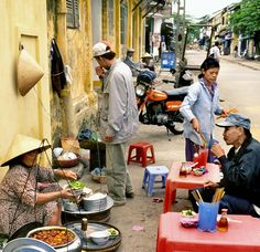 Street food, Hoi An, Vietnam   - Explore the World with Travel Nerd Nici, one Country at a Time. http://TravelNerdNici.com