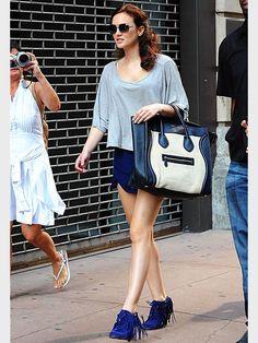 LEIGHTON MEESTER'S BAG & BOOTIES photo | Leighton Meester