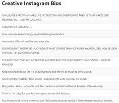 IDEA OF INSTAGRAM BIO Instagram Bio Quotes, Cute Instagram Captions, Instagram Status, Instagram Funny, Instagram And Snapchat, Instagram Life, Ig Bio Quotes, Instagram Captions Boyfriend, Creative Instagram Bios