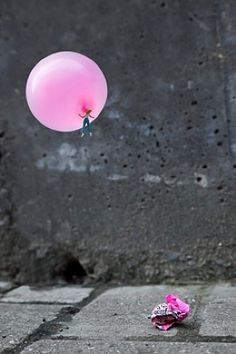 Sugar High Bubble Gum, Big Babol, Chewing Gum, Balloons Photography, Art Photography, Figure Photography, Color Pop, Color Splash, Street Art