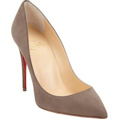 If you're going to do red bottoms, do it right. - Christian Louboutin Pigalle Follies Pumps at Barneys.com