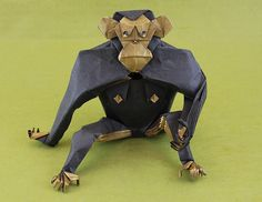 Chimpanzee 1.2 by Quentin Origami, via Flickr