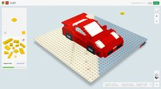 Build with Chrome - An online lego app