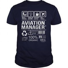 Awesome Tee For Aviation Manager T Shirts, Hoodie Sweatshirts