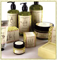 Laura Ashley Garden Toiletry Collection