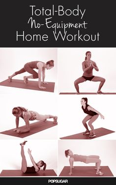 Great for a quick workout at home!