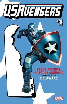 Steve Rogers' Captain America got Delaware.