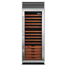 "30"" Full-Height Wine Cellar (VCWB) in Stainless Steel - Viking Range Corporation"