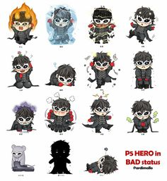 Chibi Joker is not okay poor thing