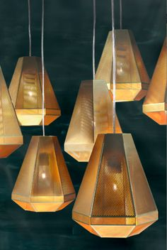 screen shot at                                                                                                                                                    Cell Pendant Light By Tom Dixon lightning