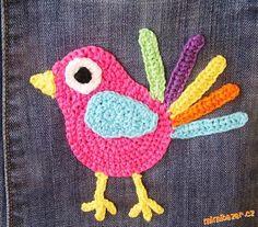 Vkládám slíbený návod na ptáčka jarabáčka. :-)<br><br>Potřebujete zbytky Camilly a Limone, háček č.3...