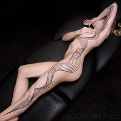 Flowing Geometric Lines http://tattooideas247.com/flowing-geometric-lines/