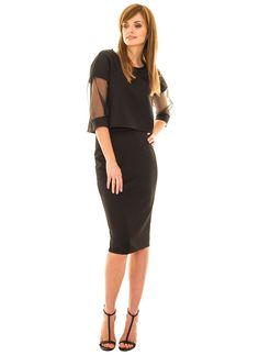 Pencil skirt black, http://modomania.o12.pl/jak-nosic-spodnice-olowkowa/
