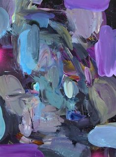 Abstract painting by Ryan Coleman