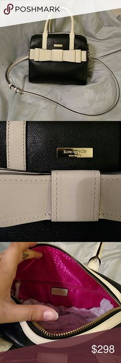 Black and white kate Spade bow bag Nwt. kate spade Bags Satchels