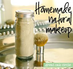 Homemade natural translucent powder plus tons of other DIY beauty ideas!