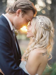 #Hair | See the wedding on SMP - http://www.StyleMePretty.com/2014/01/06/romantic-country-montana-wedding-at-the-weatherwood-homestead/ Jeremiah and Rachel Photography