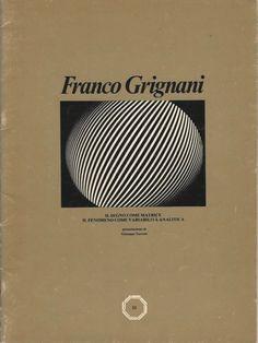 Franco Grignani, Fotografia italiana, 1978 [from PCCC] Logo Sketches, Photo Logo, Sculptures, Graphic Design, Gallery, Fotografia, Roof Rack, Visual Communication, Sculpture