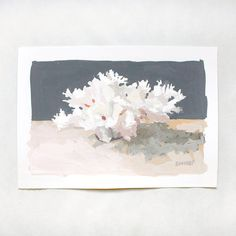 Coral Painting by Elizabeth Mayville