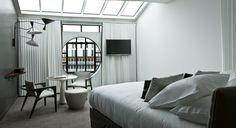 Hôtel, Hotel de Luxe Le Molitor PARIS   Agencement chambre & suite Made by James  @lamaisonjames
