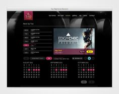 Tao Nightclub WordPress Website. Manages events, promotes VIP services and takes online bookings.