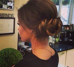 Jess Wright Hair Up