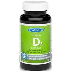 Platinum Vitamin D3 Supplement - Colds, Flu & Viral - Health Conditions | Body Energy Club Supplements