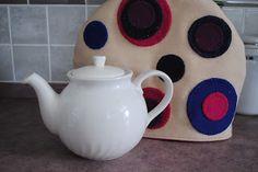 Felted wool tea cozy - Christine Baker - Fairfield Road Designs & Christine's Thrive Life