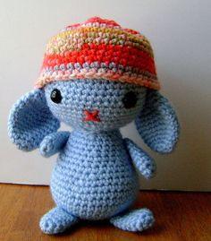 Amigurumi Blue Bunny