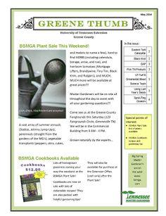 Greene Thumb newsletter